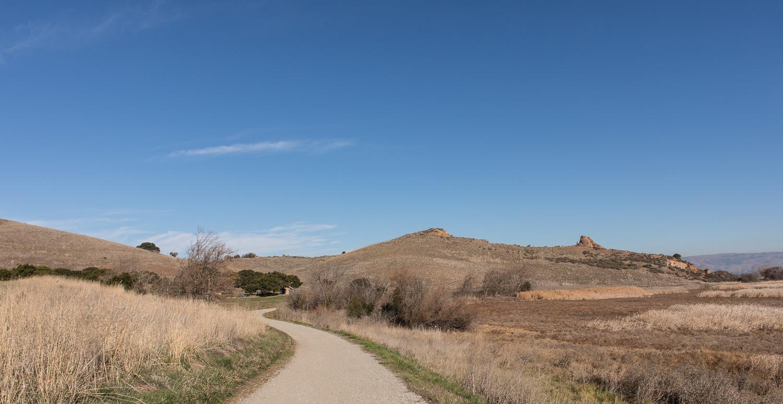 South Marsh Trail looking back towards Dairy Glen