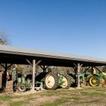 Retired farm vehicles