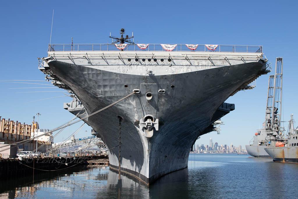 USS Hornet Bow